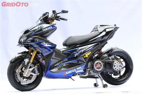 Aerox Modification by Yamaha Aerox Ini Sukses Suguhkan Inovasi Dan Jadi Juara Di