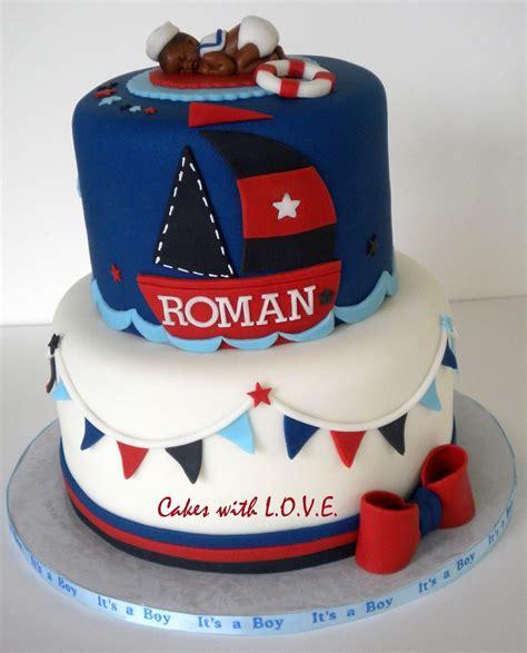 Nautical Theme Baby Shower Cakecentralcom