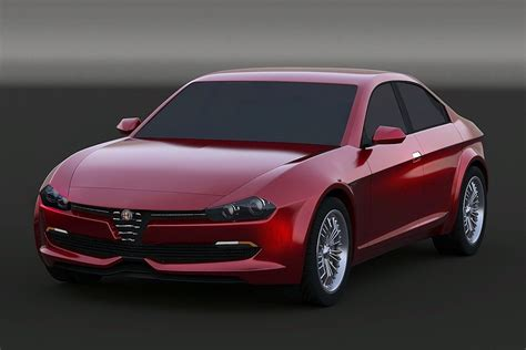 Upcoming Alfa Romeo Giulia Rendered Gtspirit