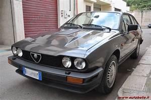 Alfa Romeo Gtv6 Occasion : vendo alfa romeo alfetta gtv6 2 5 1982 ~ Medecine-chirurgie-esthetiques.com Avis de Voitures
