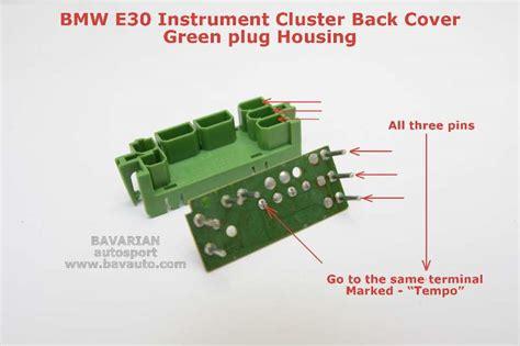 Bmw Odometer Repair Gears Instrument Cluster Connector