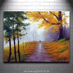 Handpainted Landscape oil painting Impressionist art ...