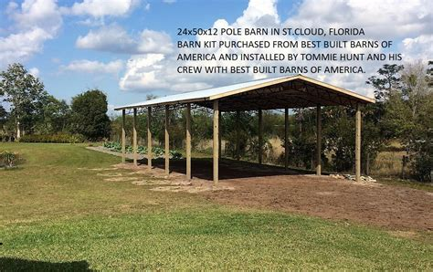 Barn Fl by Best Built Barns Of America Sheds Chiefland Florida