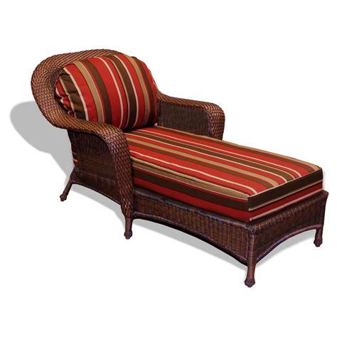 tortuga outdoor wicker chaise lounge