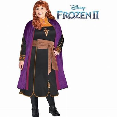 Frozen Anna Costume Adult Plus Act Wig