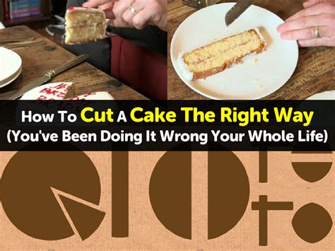 how to cut a cake how to cut a cake the right way you ve been doing it