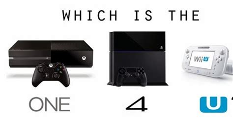 playstation   xbox   wii iu comparison