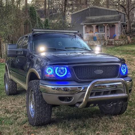 f150 halo lights rgb halo rings for lightning headlights question ford