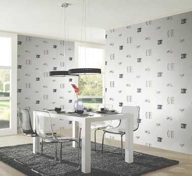 papier peint cuisine moderne le papier peint confirme sa tendance déco