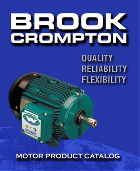 Electric Motor Catalogue by Brook Crompton Americas Electric Motors Catalog