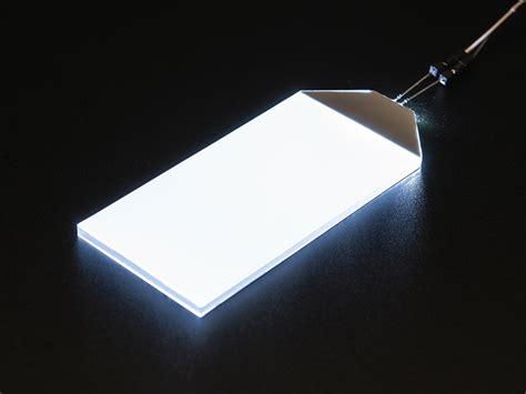White LED Backlight Module - Large 45mm x 86mm ID: 1621