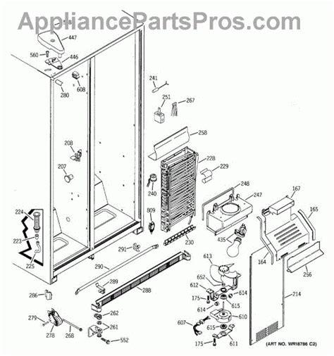 ge refrigerator parts diagram reviewmotorsco