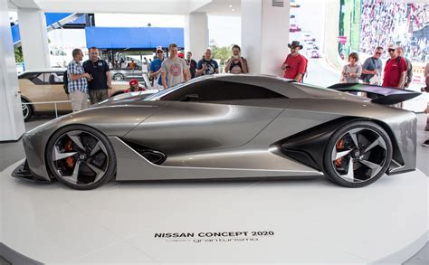 tesla 2020 vision nissan concept 2020 vision gran turismo unwrapped at goodwood
