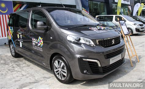 Peugeot Traveller Previewed In Malaysia 20l Diesel