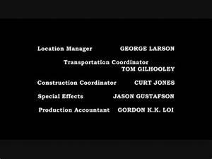 Grey's Anatomy Season 5 End Credits - YouTube