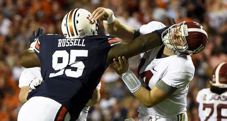Auburn DT Dontavius Russell says he'll be back for his ...