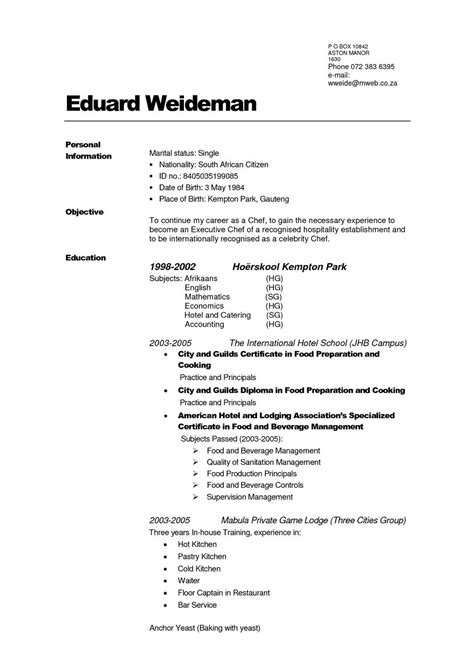 Create Pdf Resume by Create Resume Free Pdf Mbm