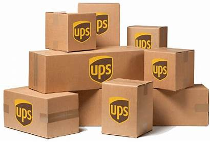 Ups Shipping Boxes Ship Box Packages Delivery