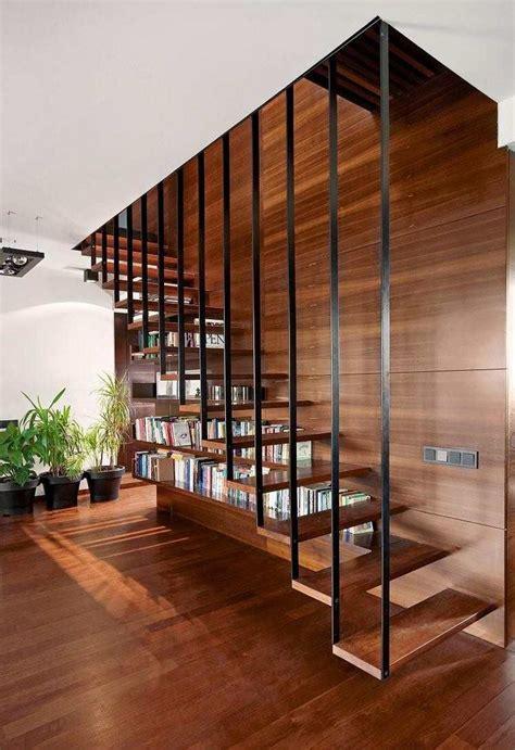 canape confortable moelleux escalier bibliothèque pour tirer profit de chaque recoin à