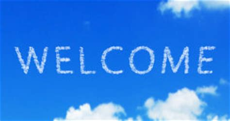 Welcome Word Cloud Stock Photo - Image: 40744408
