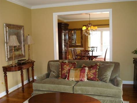 sw restrained gold paint color for living room to live