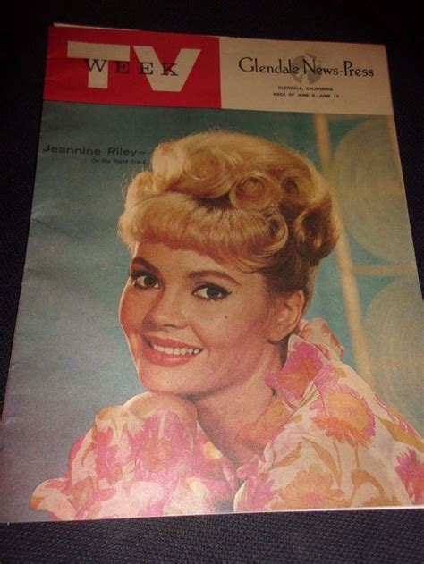 petticoat junction jeannine riley color cover  tv week