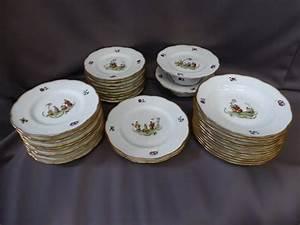 Service De Table Porcelaine : service de table en porcelaine de limoges th odore haviland fin xixe si cle ~ Teatrodelosmanantiales.com Idées de Décoration