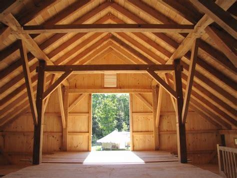 Timber Frame Barn in Landgrove, Vermont