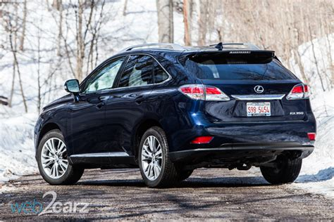 2014 Rx 350 Review by 2014 Lexus Rx 350 Awd Review Web2carz