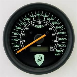 100mm Programmable Speedometer Countach