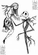 Jack and sally coloring pages - Coloring Pages   Pictures - IMAGIXSJack And Sally Coloring Pages