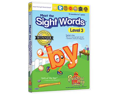 meet the sight words 3 preschool prep company 164 | MSW3 DVD large 01