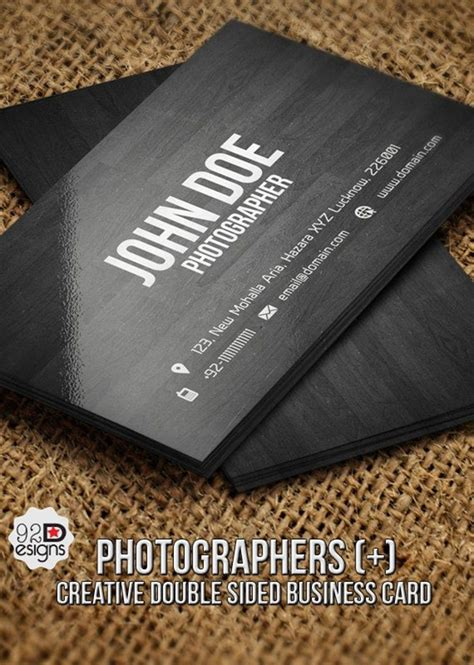cool photography business cards 40 cool business card ideas for photographers bored