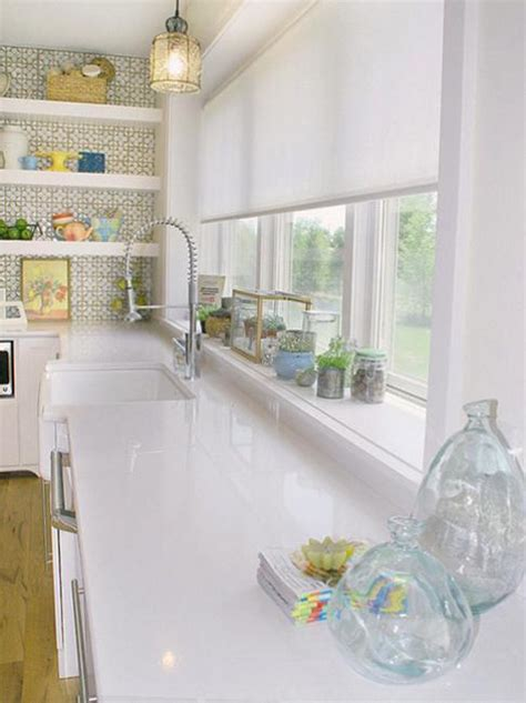 white kitchen cabinets  modern wallpaper ideas  decorating  kitchen wallpaper
