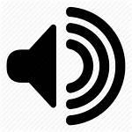 Speaker Icon Audio Vector Sound Volume Transparent