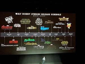 Photo of Disney's Film Slate Through 2017 — GeekTyrant