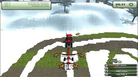landwirtschafts simulator  schneemod map schnee