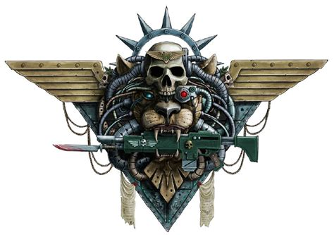 kaos skull category imperial guard warhammer 40k fandom powered