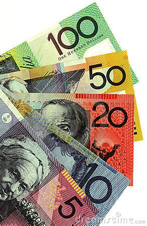 australian money stock image image