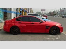 Hamann Mission BMW M5 Spotted on Beijing's Tuning Street