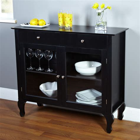 Black Sideboards And Buffets by Black Dining Room Buffet Sideboard Server Cabinet With