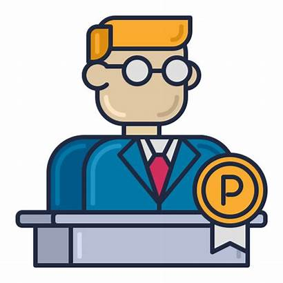Principal Icon Banker Principals Message Teaching Plan