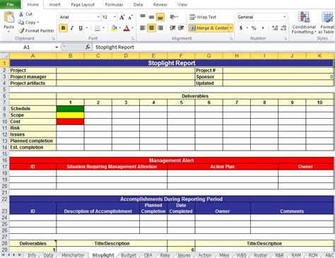 project work plan template  xls excel tmp