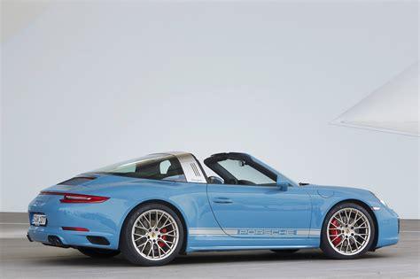 Porsche 911 Targa 4s Exclusive Design Edition Wears
