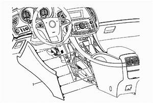 Service Manual  2004 Buick Rainier Gear Shift Console