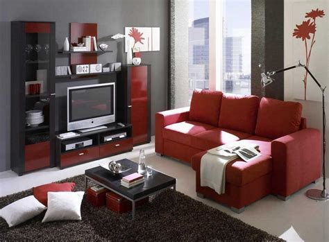 Red Black And Grey Living Room Ideas Red Black And Grey