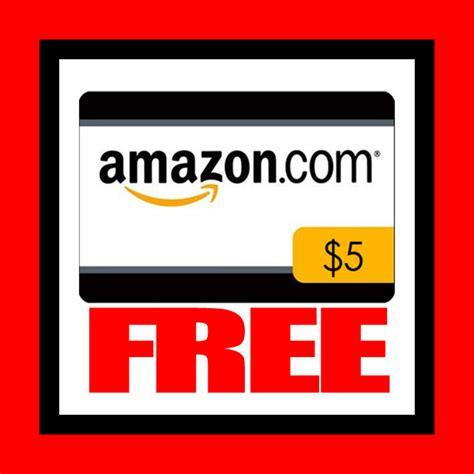Free $5 Amazon Gift Card!!!!!!  Freebie Depot