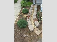Gutter Drainage Path