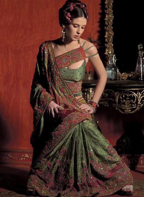 designer saree exclusive saree blouse design and trends