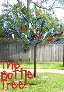 diy bottle tree c r a f t